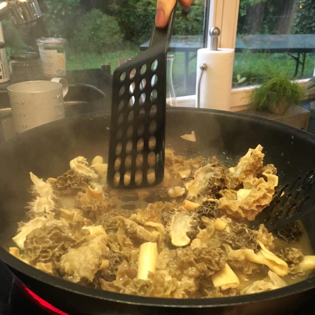 Zubereitung Morcheln 1