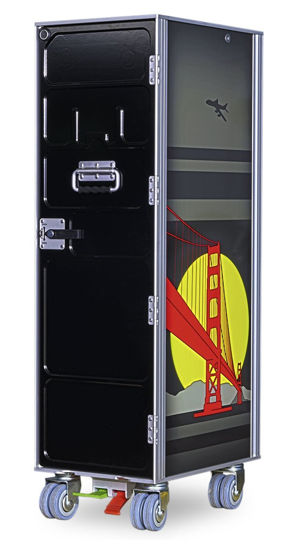 Image of airline trolley limited - goldengate